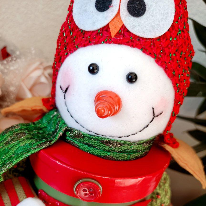 圣诞气息满满的糖果罐送男朋友,让他甜到心间的礼物