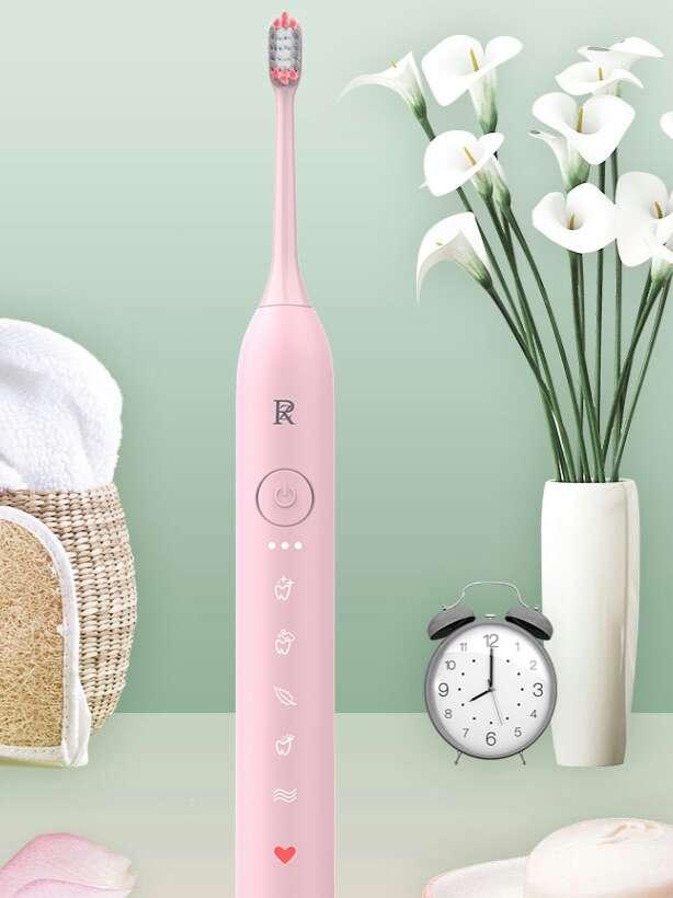 这款电动牙刷,明明可以靠颜值,😃却要靠实力