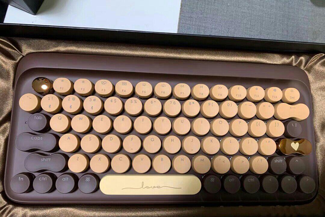 创意个性圆点巧克力键盘,将甜蜜化为手中之物