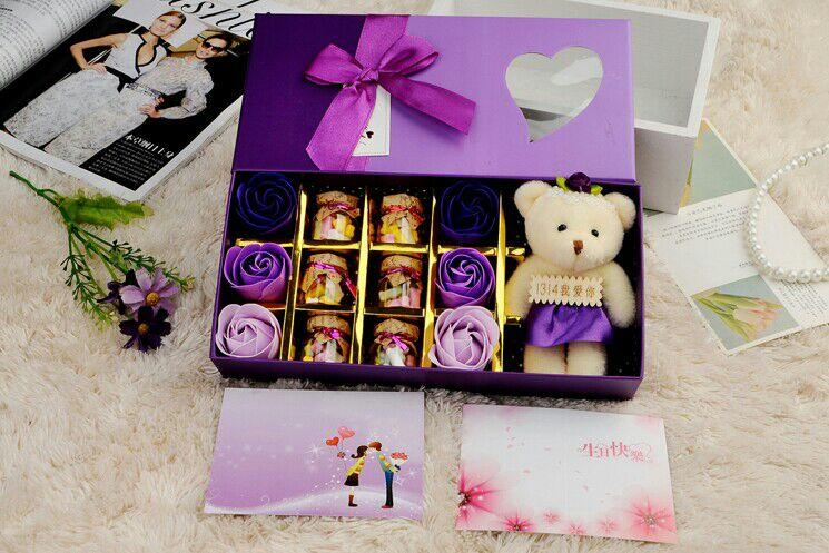 颜值炸裂的糖果礼盒送女友,绝对不会错哦