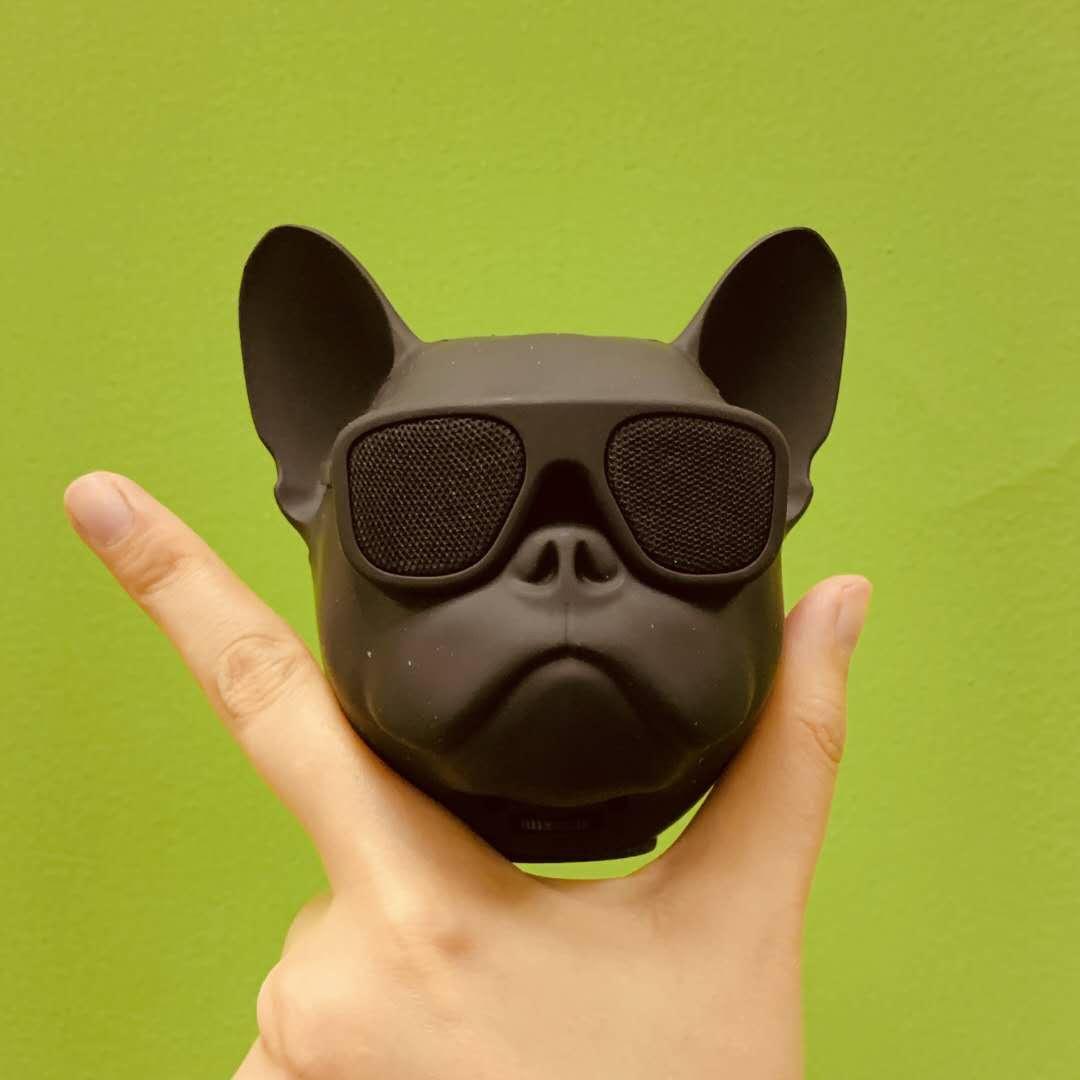 创意走心的法斗犬蓝牙音箱,送男友的黑科技礼物