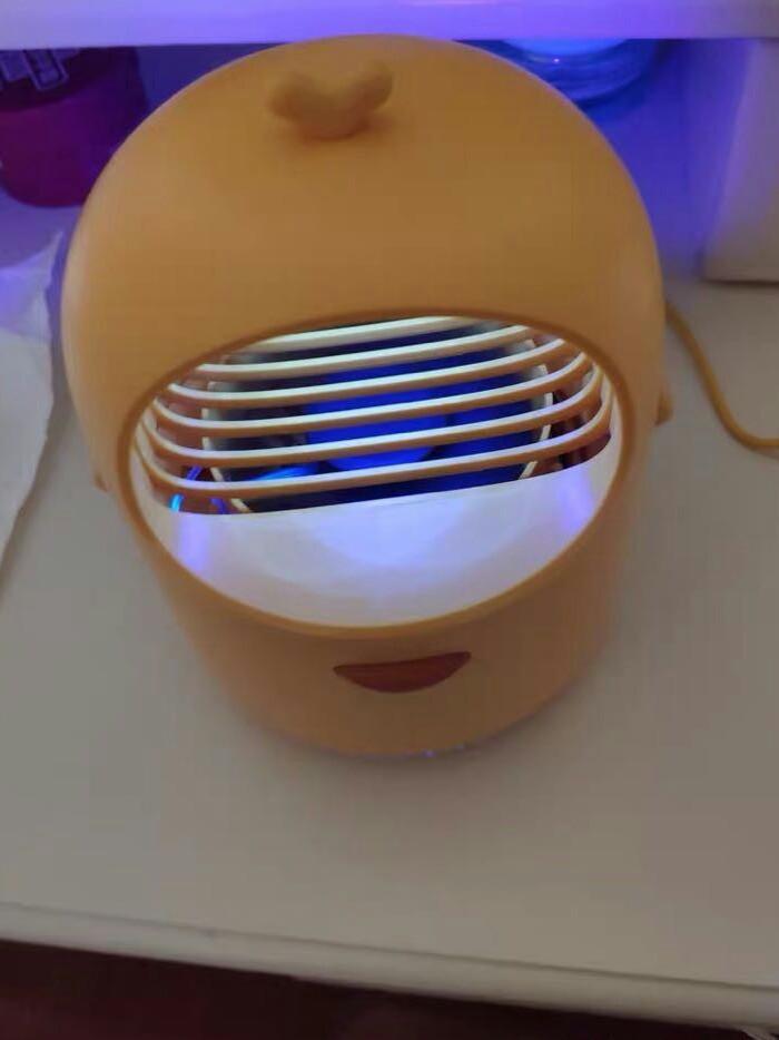 创意呆毛灭蚊灯,可爱有趣又精致