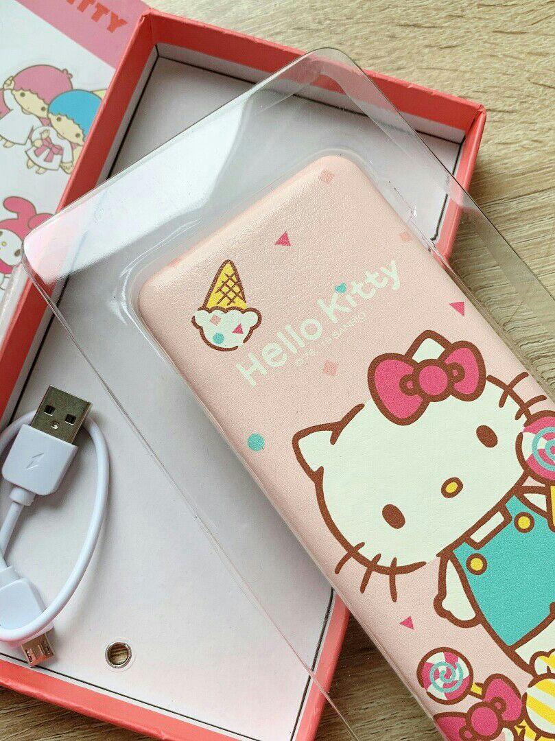 粉红Hello Kitty充电宝,瞬间少女心爆发