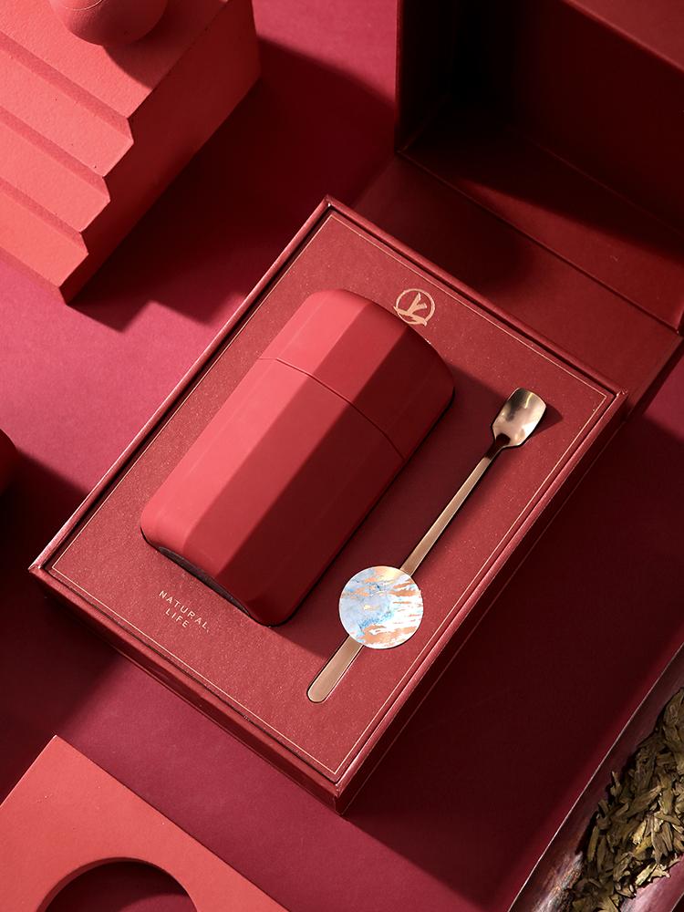 送老爸的实用春节礼物,高颜喜庆的茶北岛单罐礼盒