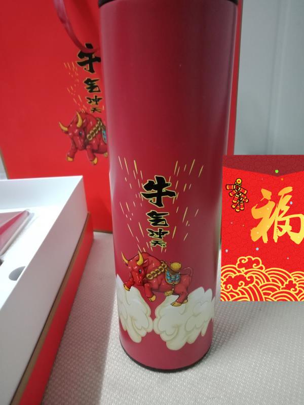 送男朋友的创意春节礼物,高档商务定制的牛气冲天礼盒
