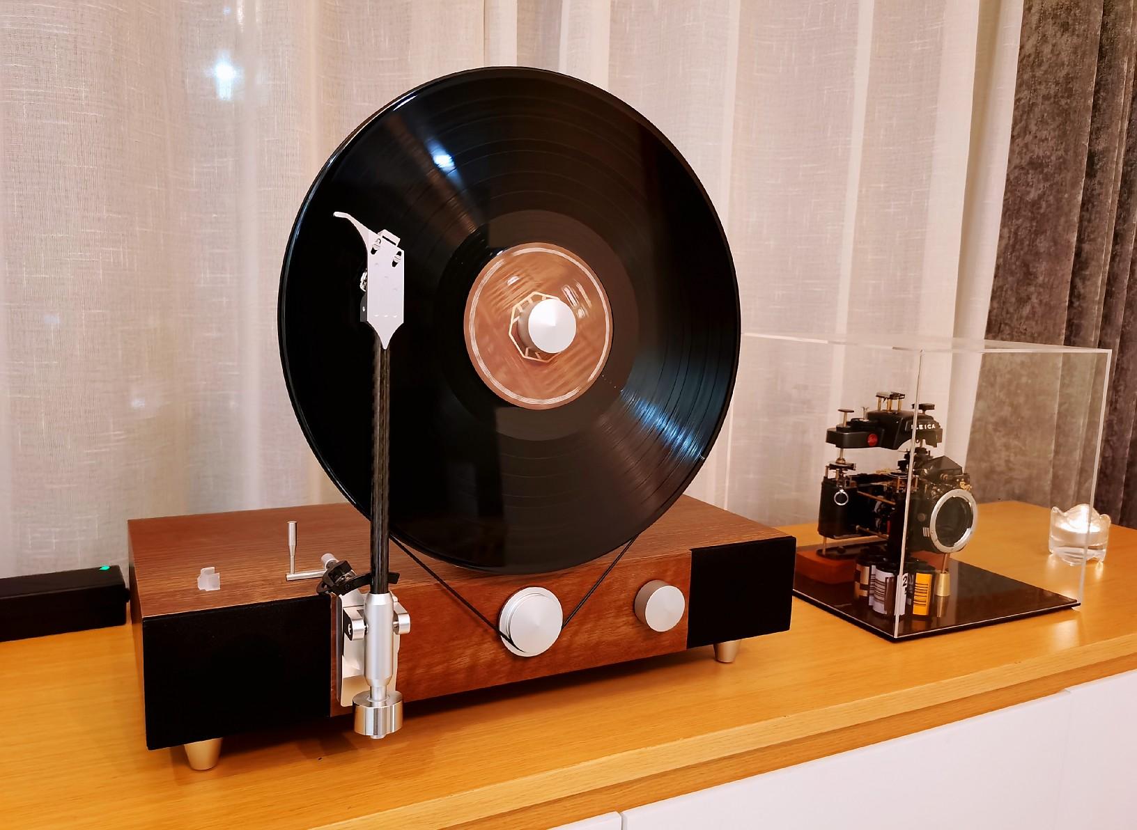 格莱美复古黑胶唱片机,高档母亲节礼物送老妈