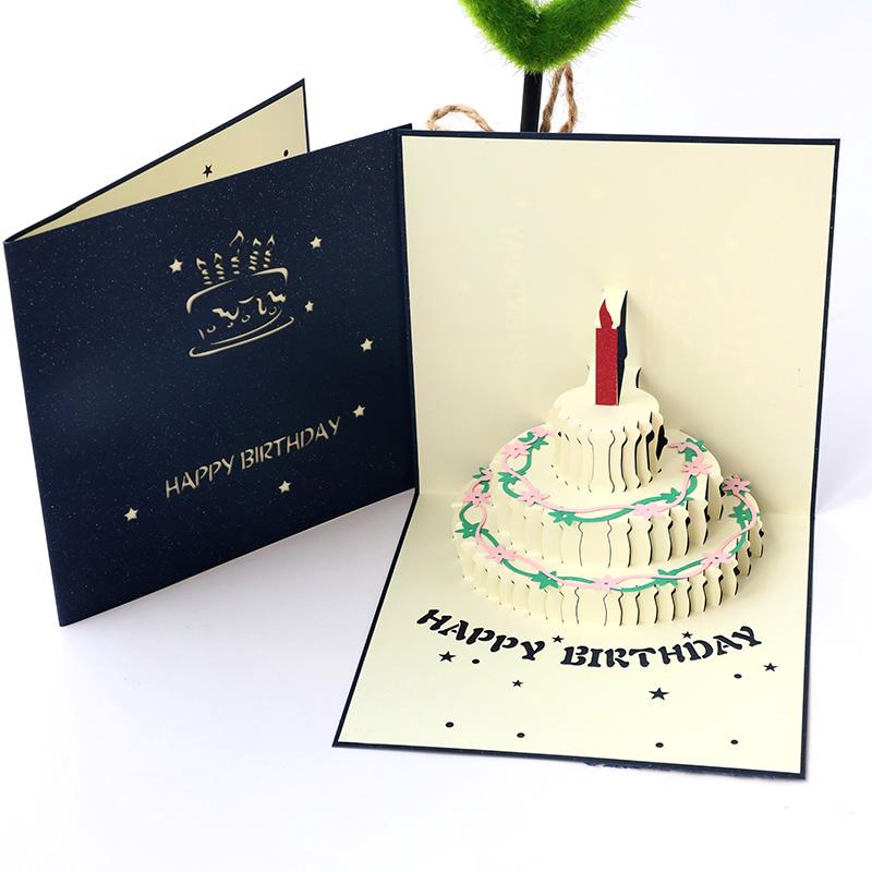 母亲节创意礼道生日贺卡,送妈妈走心的生日礼物