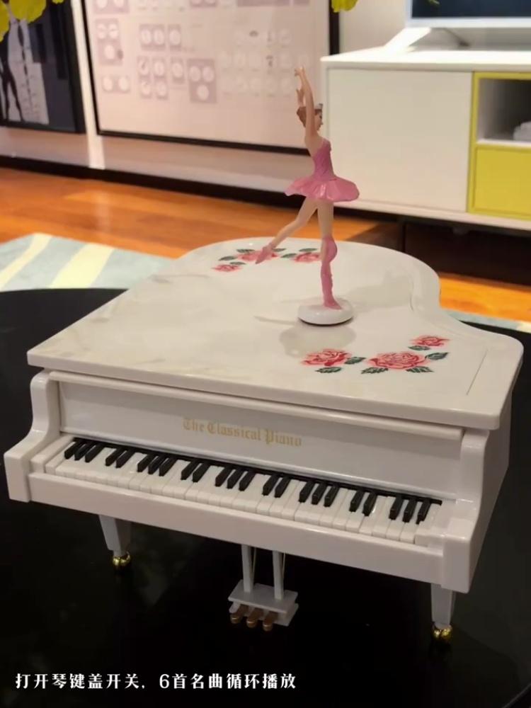 创意个性的钢琴音乐盒,你绝对会喜欢哒