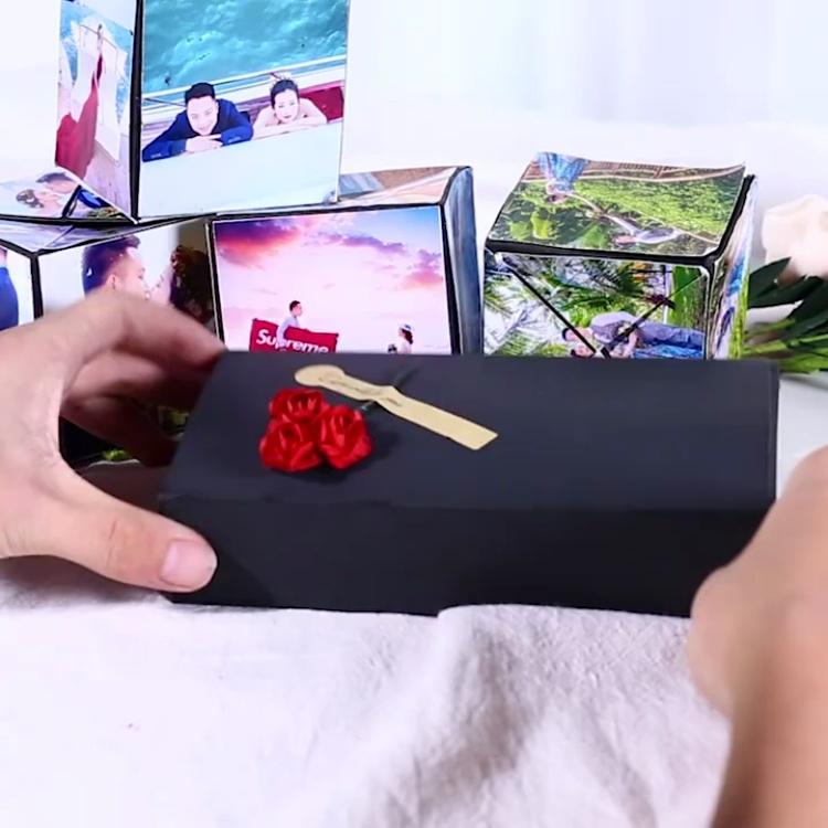 一款网红生日礼物,创意爆炸盒