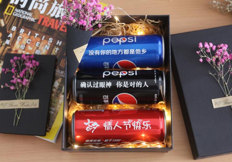 专属定制可乐,来自生活的仪式感礼物