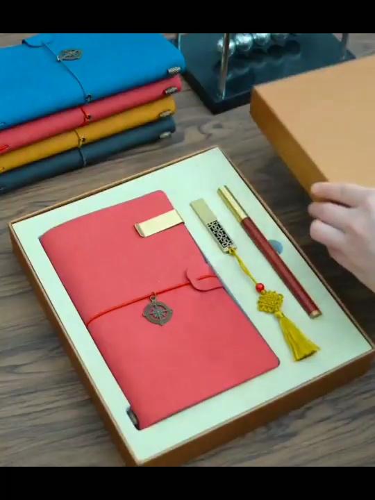 送商务男友的高端春节礼物,创意满满的定制笔记本礼盒