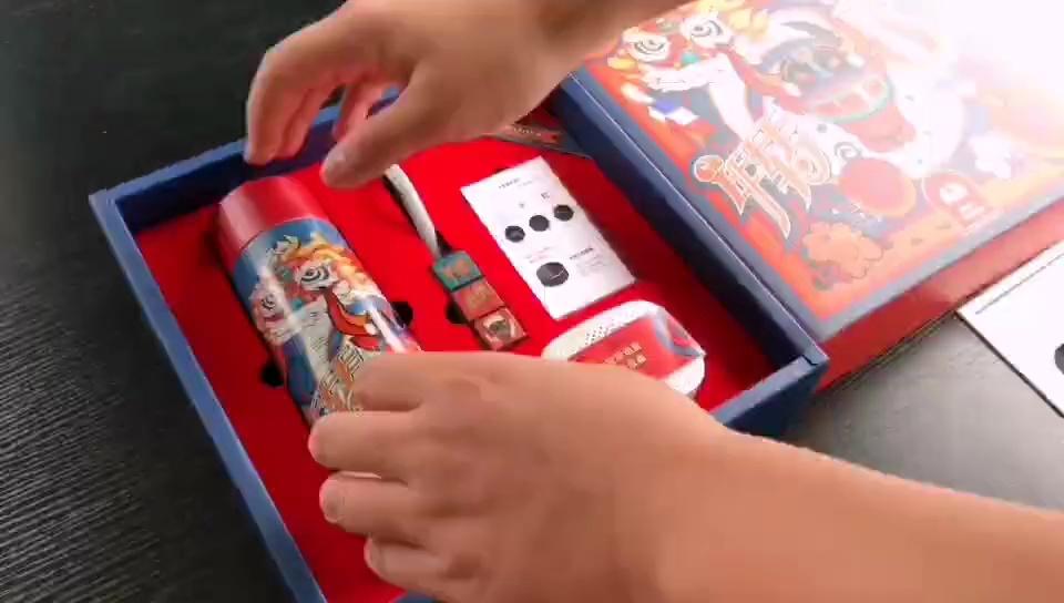 送男友的创意春节礼物,牛年国潮礼品4件套礼盒