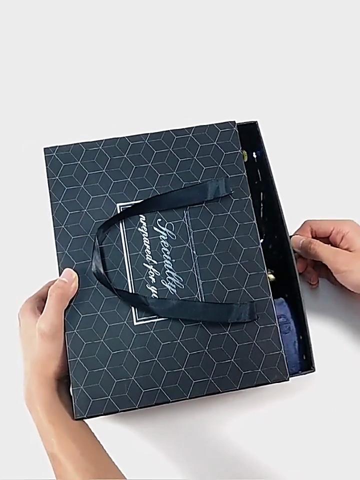 高档伴手礼盒送男朋友,创意满满的生日礼物get