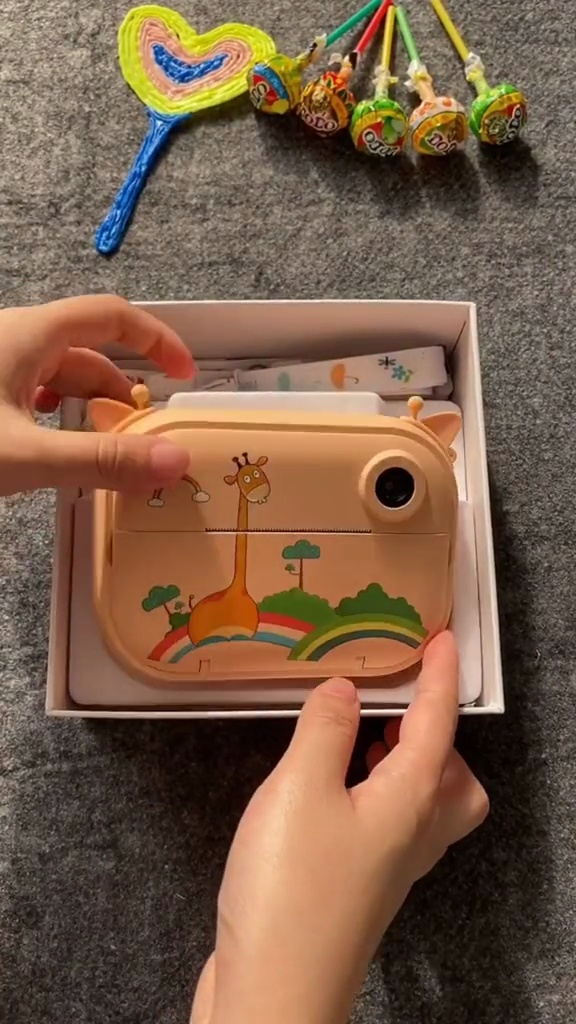 拍立得儿童相机,送小外甥女的高颜值礼物💥
