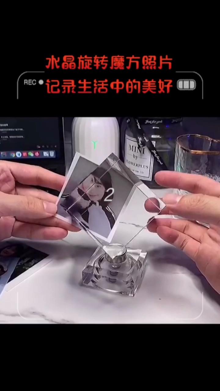 DIY水晶旋转魔方,高甜七夕礼物送女票💞
